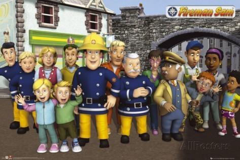 Feuerwehrmann Sam Charaktere